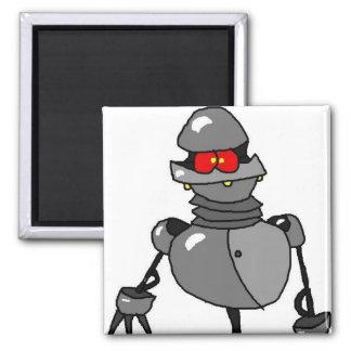 Sr. Roboto Imán Cuadrado