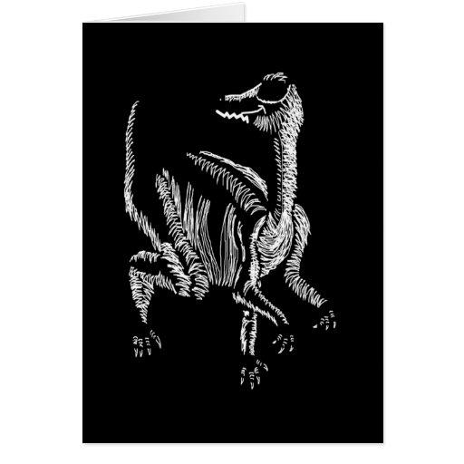Sr. Segnosaurus Tarjeta De Felicitación