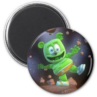 Sr. señor Gummibär Asteroids Magnet Imán Redondo 5 Cm