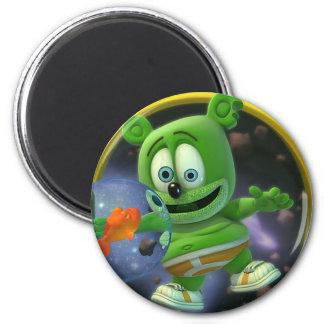 Sr. señor Gummibär Round Magnet Imán