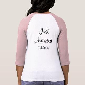 Sr./señora. Apenas camiseta casada