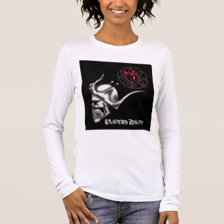 sr skull king lady's long sleeve long sleeve T-Shirt