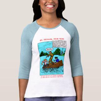 Sr. Skygack Observes Boaters Shirts Camisetas