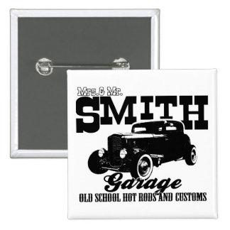 Sr. Smith Hot-Rod Garage de Mrs.& Pin Cuadrado