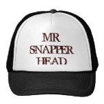 SR. SNAPPER HEAD GORRAS DE CAMIONERO