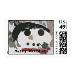 Sr. Snowman Christmas Postage Envio