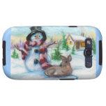 Sr. Snowman Samsung Galaxy Case Galaxy SIII Fundas