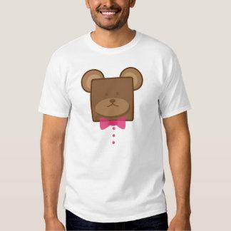 Sr. Squarie Bear en desgaste formal Playera