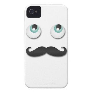 Sr. stache funda para iPhone 4
