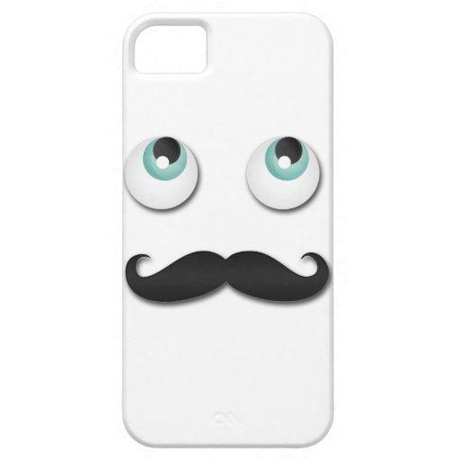 Sr. stache iPhone 5 carcasa