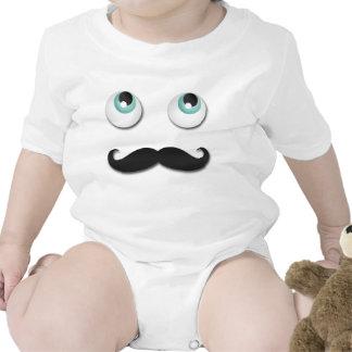 Sr. stache traje de bebé