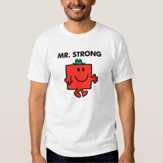 Sr. Strong Waving Hello Playera