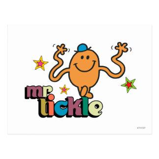 Sr Tickle Stars Tarjeta Postal