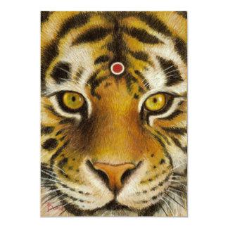 """Sr. Tiger Invitación 5"""" X 7"""""""
