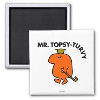 Sr. Topsy-Turvy Classic Imanes De Nevera