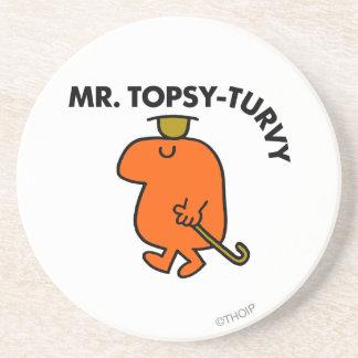 Sr. Topsy-Turvy Classic Posavasos Diseño
