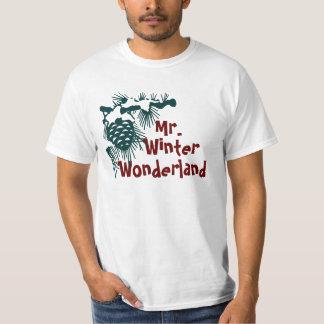 Sr. Winter Wonderland Playera