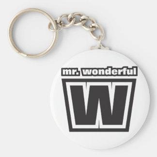 Sr. Wonderful Llavero Redondo Tipo Pin