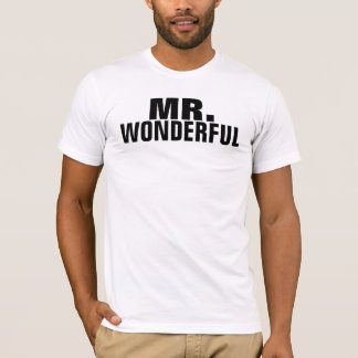 Sr. Wonderful Playera