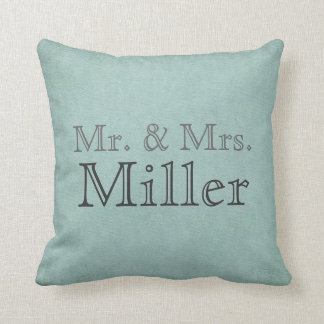 Sr. y señora adaptables Pillow Cojin