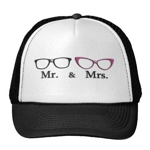 Sr. Y señora Geek Gorras De Camionero