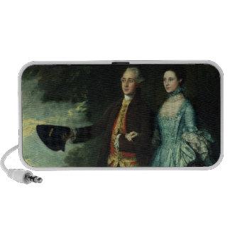 Sr. y señora George Byam y su más viejo Notebook Altavoces
