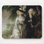 Sr. y señora Guillermo Hallett, c.1785 Mouse Pads