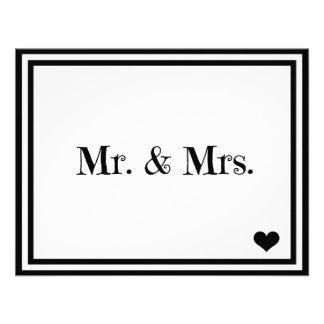 Sr y señora