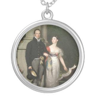 Sr. y señora James Dunlop Colgante Redondo