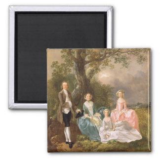 Sr. y señora Juan Gravenor y sus hijas, Eliz Imán Cuadrado