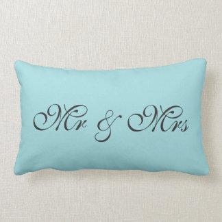Sr. y señora Lumbar Pillow Cojín Lumbar