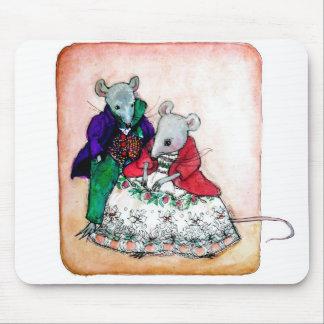 Sr y señora Mouse Alfombrillas De Raton