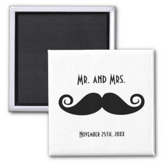 Sr y señora Mustache Iman