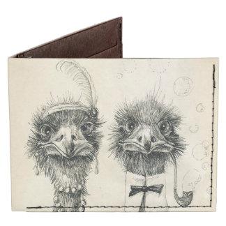 Sr. y señora Ostrich Billeteras Tyvek®