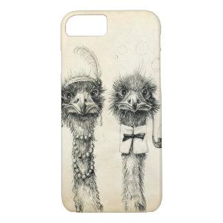 Sr. y señora Ostrich Funda iPhone 7