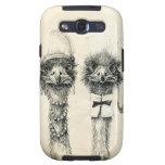 Sr. y señora Ostrich Samsung Galaxy S3 Cárcasas