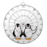 Sr. y señora Penguin Design Tabla Dardos
