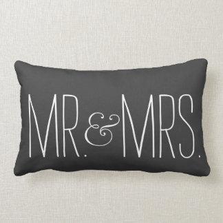 Sr. y señora Pillow Cojín
