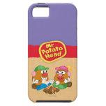 Sr. y señora Potato Head - hoguera iPhone 5 Cárcasas