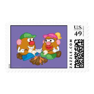 Sr. y señora Potato Head - hoguera Sello