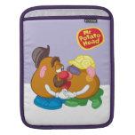 Sr. y señora Potato Head Kissing Fundas Para iPads