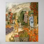 Sr. y señora Vinegar en casa Poster