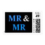 Sr. y Sr. Gay Wedding Marriage Franqueo