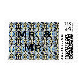 Sr y Sr Wedding Stamps