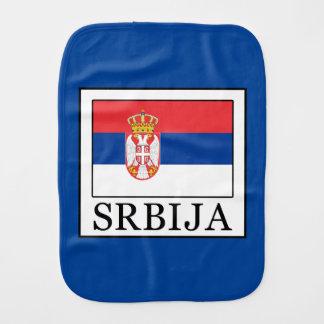 Srbija Burp Cloth