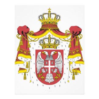 Srbija Grb - Veliki Serbian Coat of Arms - Big Full Color Flyer