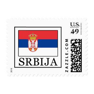 Srbija Postage