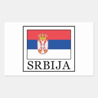 Srbija Rectangular Sticker