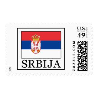 Srbija Stamp