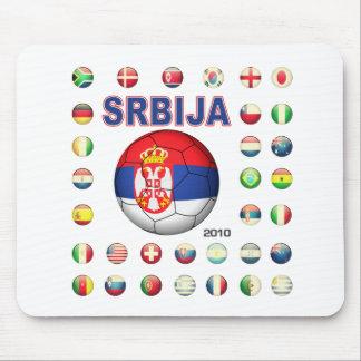Srbija t-shirt d7 mouse pad